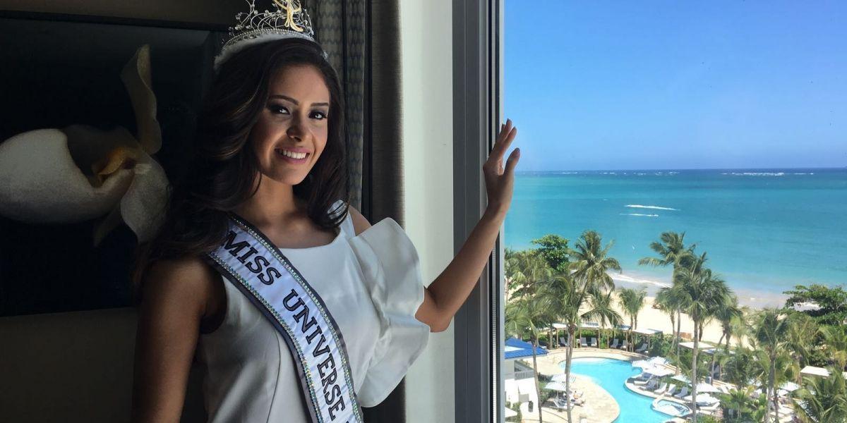 Danna Hernández vive su sueño de ser la reina de su gente