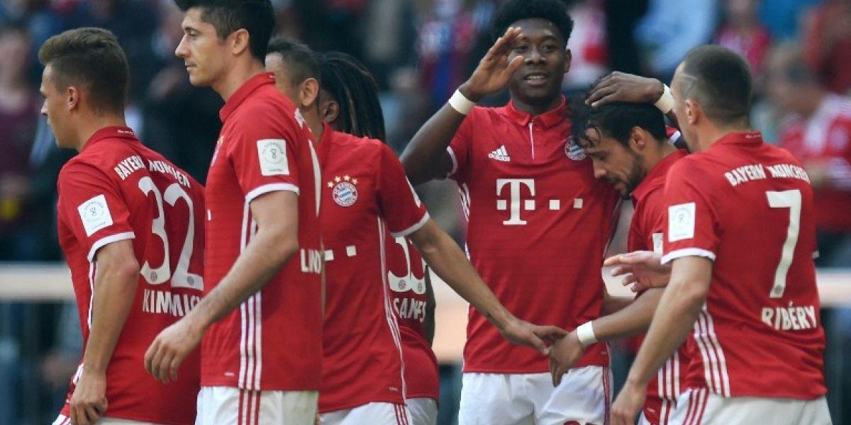 Bayern no necesita de Vidal para seguir ganando en la Bundesliga