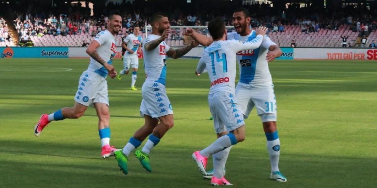 El Cagliari de Isla sufrió con el poder goleador del Napoli