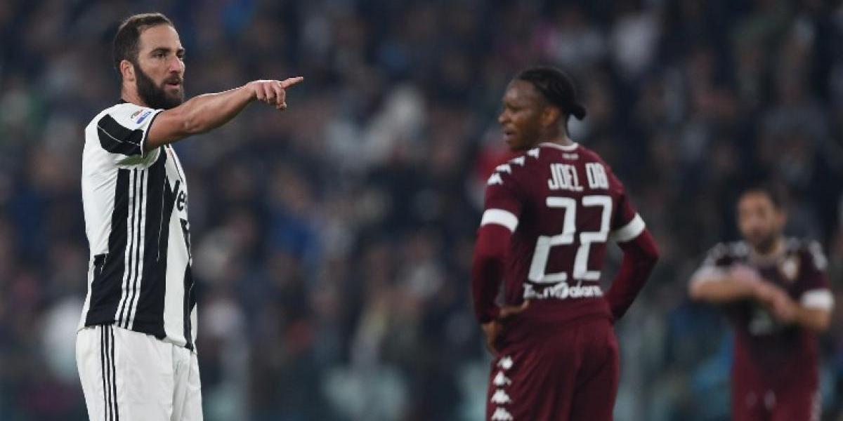 El Pipita Higuaín salva el invicto de local de la Juventus en tiempo agregado