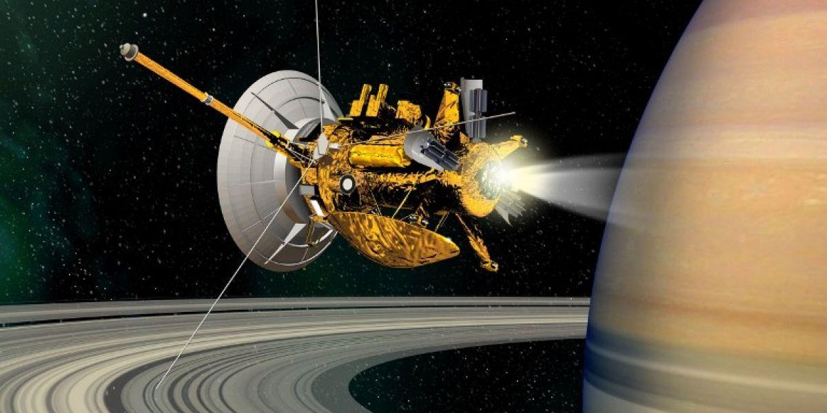 Cassini graba el misterioso sonido de Saturno