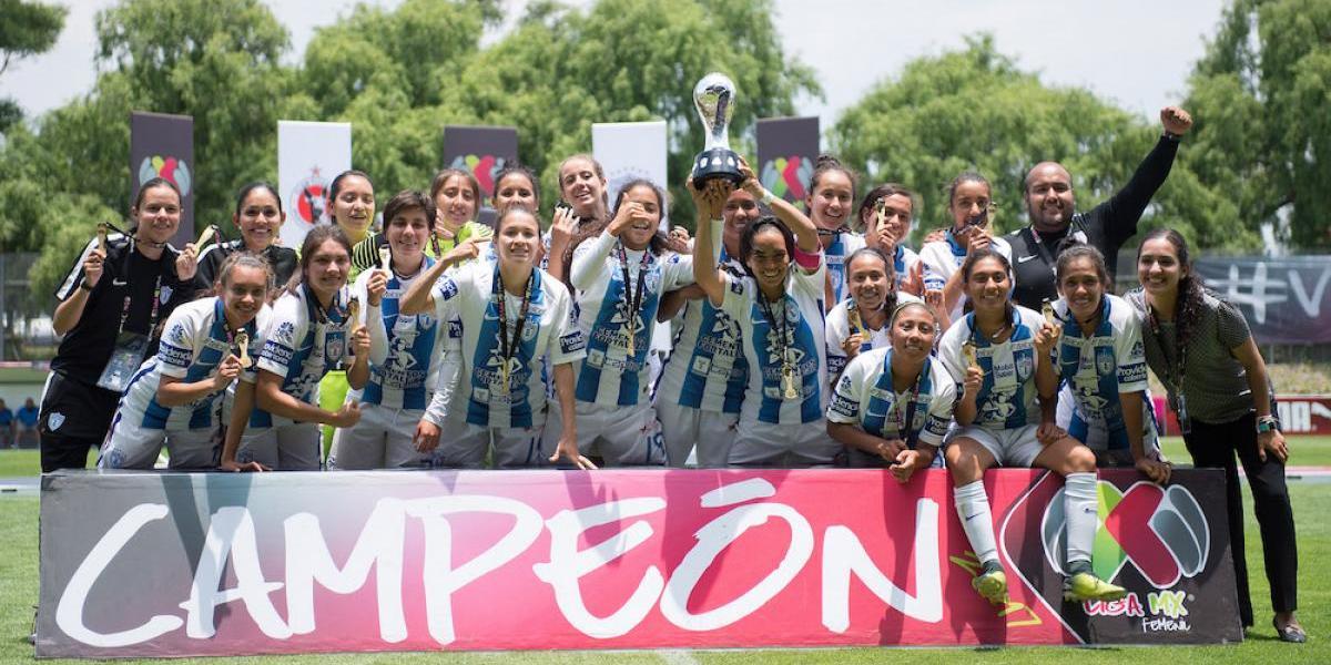 Pachuca, primer campeón femenil de la Copa de la Liga MX