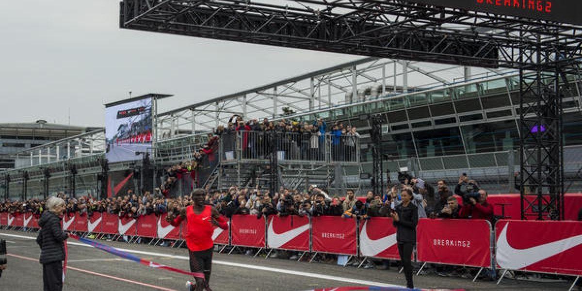 Kipchoge, el hombre que corrió un maratón en el menor tiempo posible