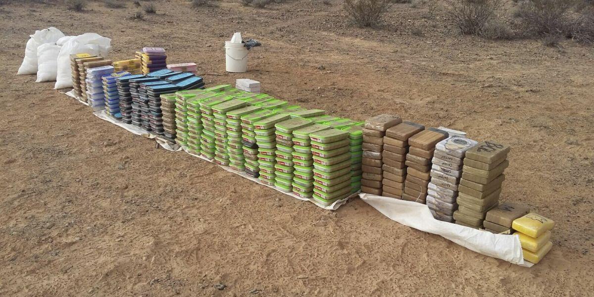 Decomisan más de mil paquetes de droga en República Dominicana