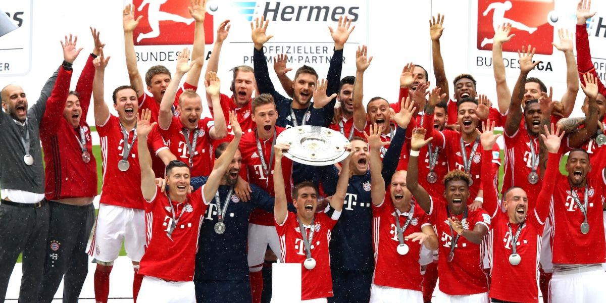 Bayern Munich celebra título de la Bundesliga con triunfo en casa