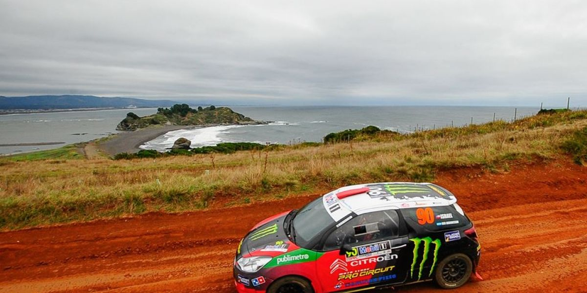 Benjamín Israel superó los obstáculos y se quedó con la primera jornada del RallyMobil