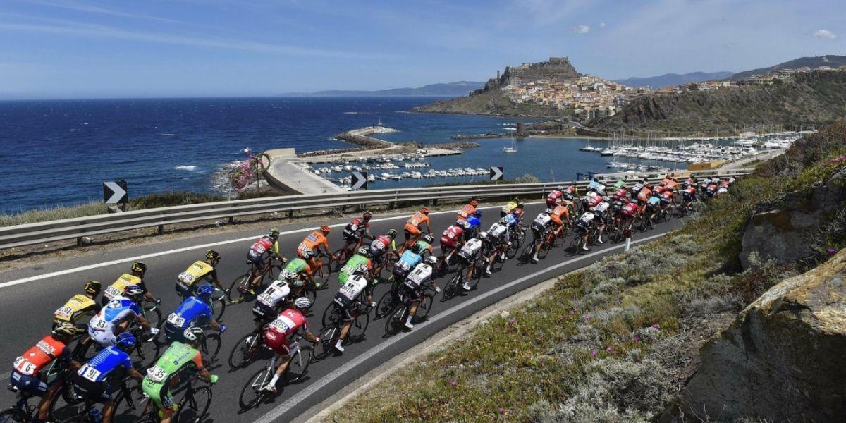 Fernando Gaviria llegó cuarto en la segunda etapa del Giro de Italia