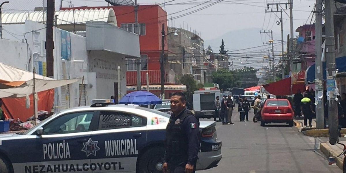 Se eleva a 5 los muertos tras asalto en oficinas del PRI de Nezahualcóyotl