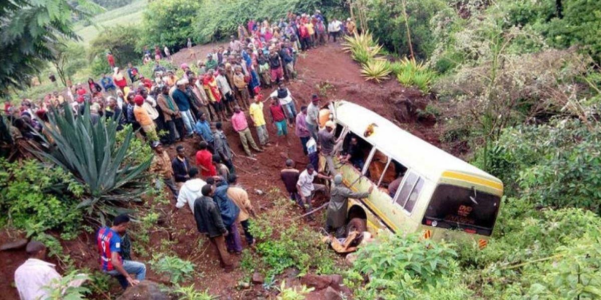 Accidente de autobús escolar en Tanzania deja 32 niños muertos y tres adultos