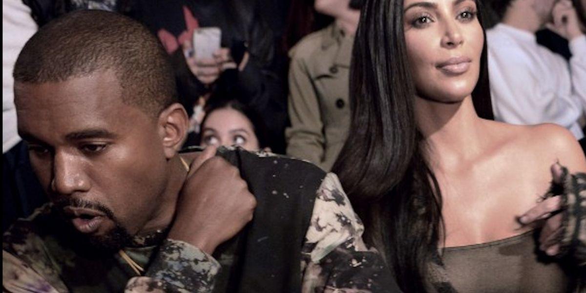 """El rapero Kanye West critica los """"hoyuelos en el trasero"""" de Kim Kardashian"""
