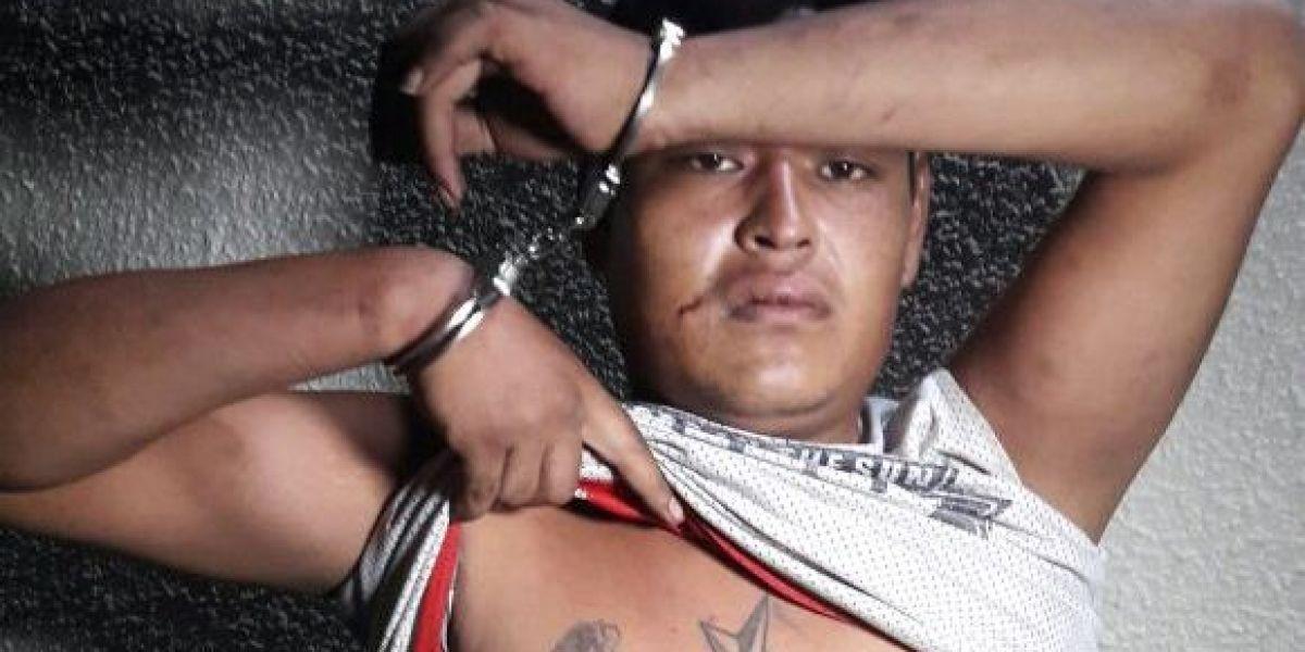 """Capturan al """"Chino Yeca"""" cuando intentaba asaltar a una mujer en Amatitlán"""