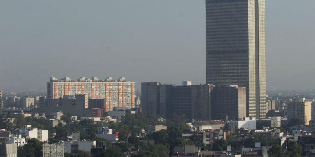 CDMX registra mala calidad del aire; está a dos puntos de contingencia