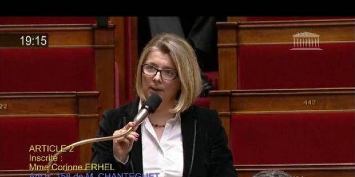 Diputada francesa muere súbitamente en pleno discurso de apoyo a Macron