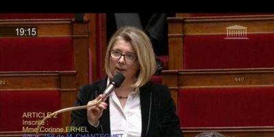 Muere diputada francesa pro-Macron cuando pronunciaba discurso