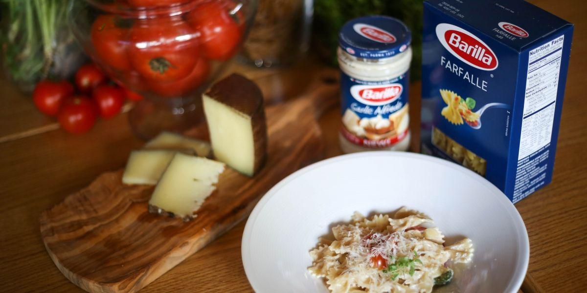 Llega famosa pasta italiana a la isla