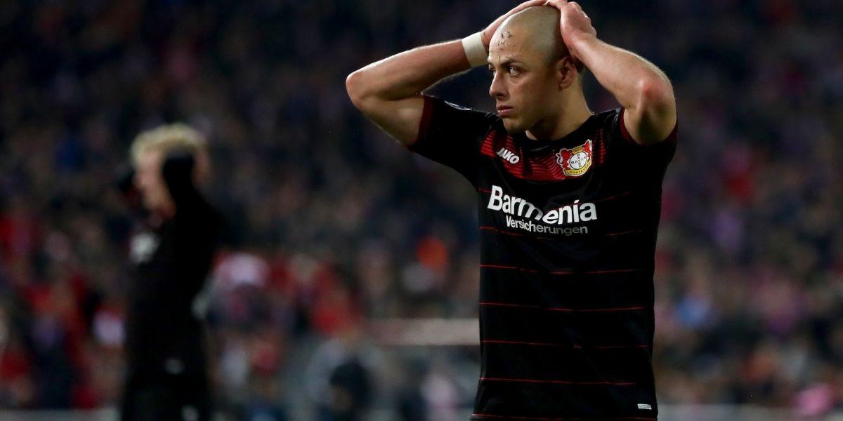 Sin 'Chicharito', Leverkusen empata en la liga y está cerca del descenso
