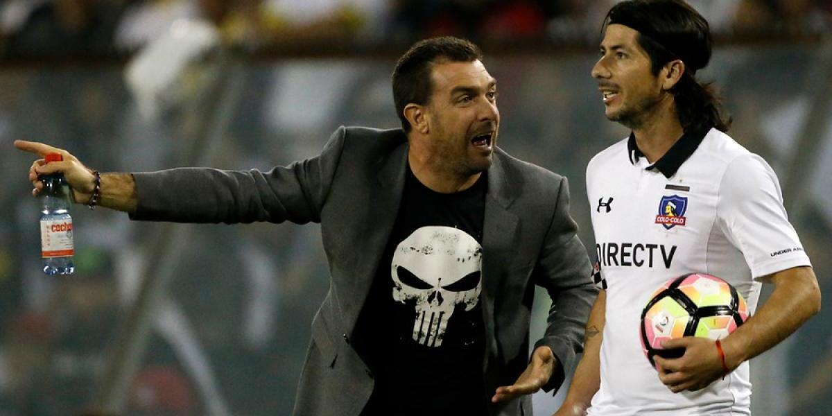 Guede juega al misterio en Colo Colo para trascendental partido con Everton