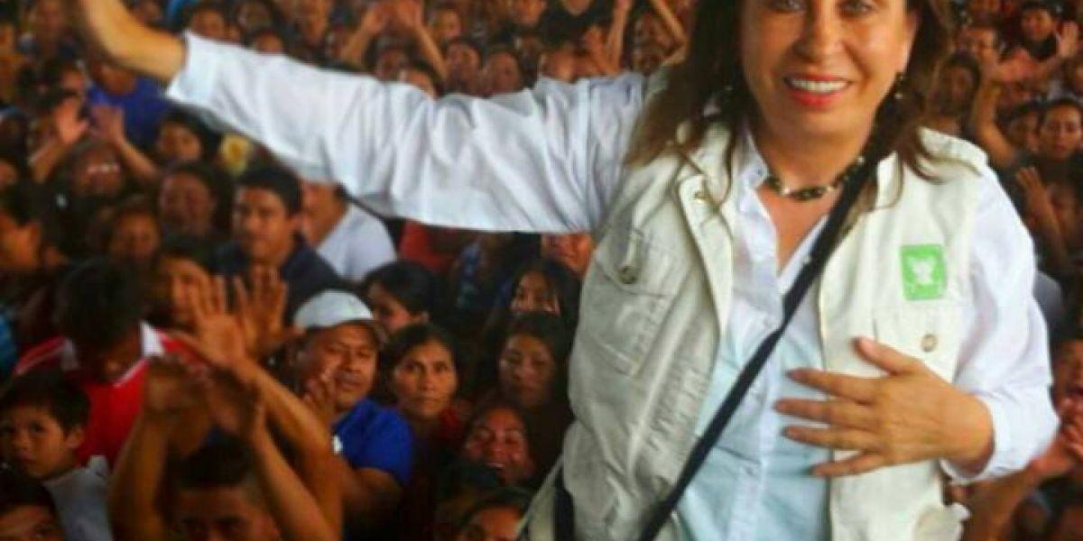 Por esta razón Sandra Torres está de acuerdo con el diputado Álvaro Velásquez