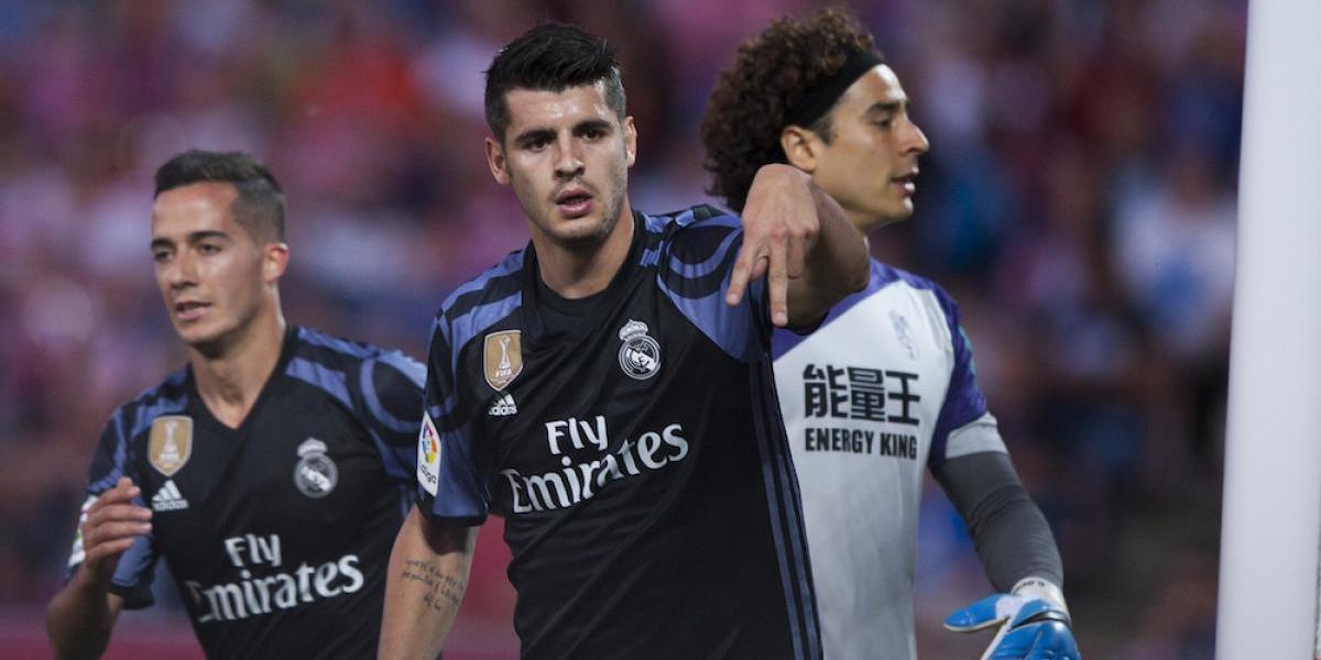 Real Madrid golea al Granada de Memo Ochoa