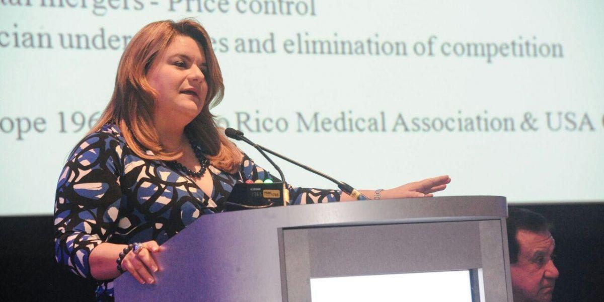 Jenniffer González discute agenda de trabajo para área de salud