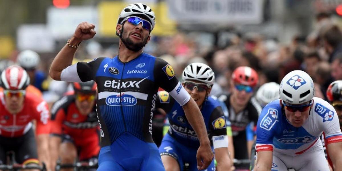 El colombiano Gaviria gana la tercera etapa y es el líder del Giro de Italia