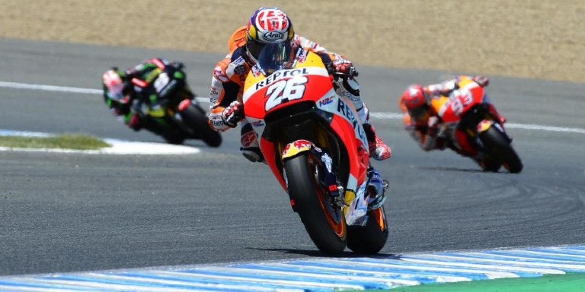 Dani Pedrosa gana el GP de España del Moto GP en jornada gloriosa para los hispanos