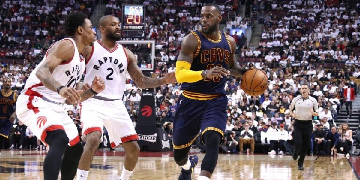 LeBron James y sus Cavs barrieron a Toronto y son finalistas del Este