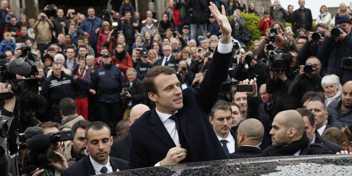 Emmanuel Macron gana la presidencia de Francia