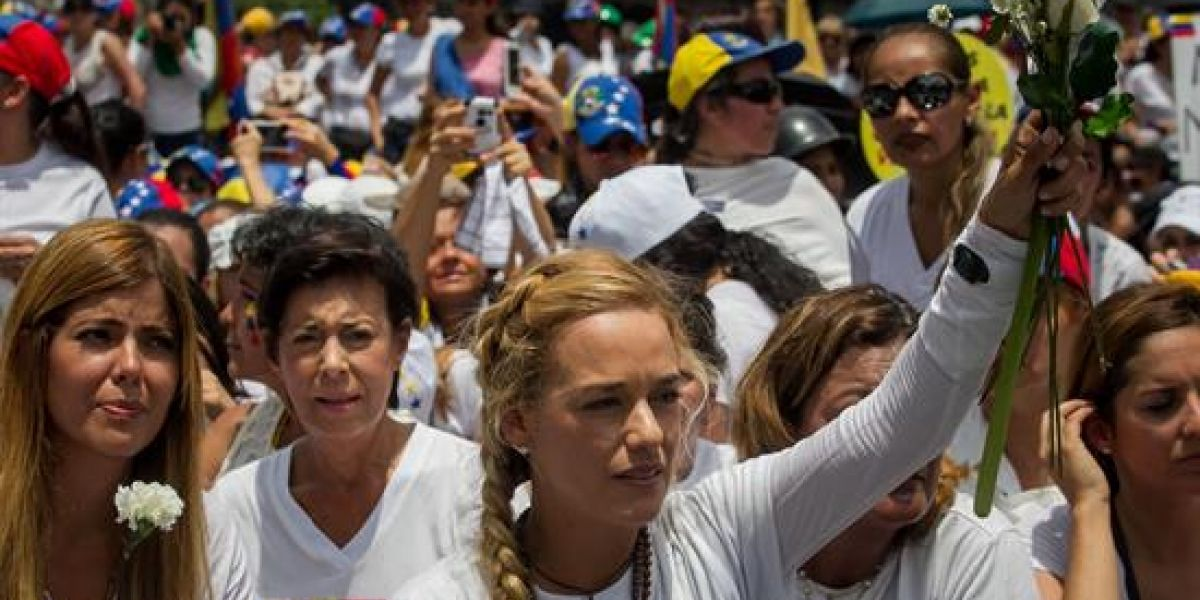 Lilian Tintori confirma el buen estado de salud de Leopoldo López