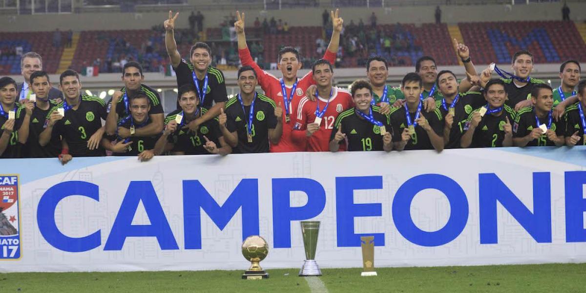 México, tricampeón del premundial Sub-17