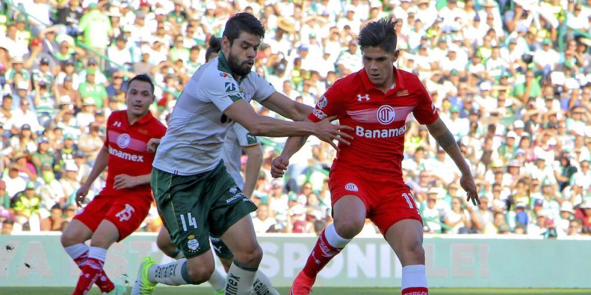 Santos rescata empate ante el Toluca en el cierre del Clausura 2017