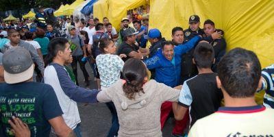 Conato de bronca en el América vs. Pachuca