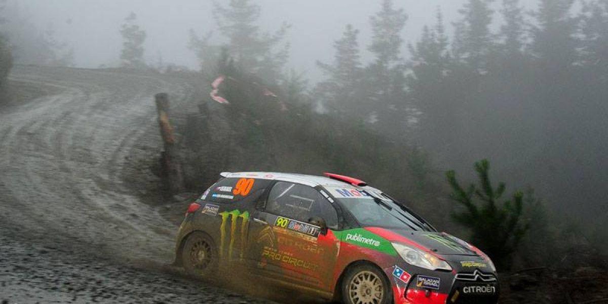Benjamín Israel sigue intratable en el RallyMobil y ganó la segunda fecha en Concepción