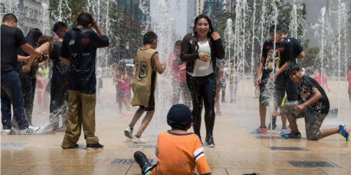 El centro de la Ciudad de México es una 'isla de calor'