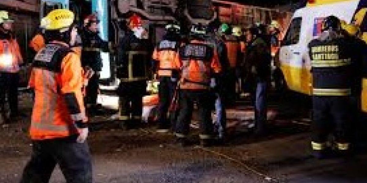 Mujer muere tras ser aplastada por bus del Transantiago en plena Alameda