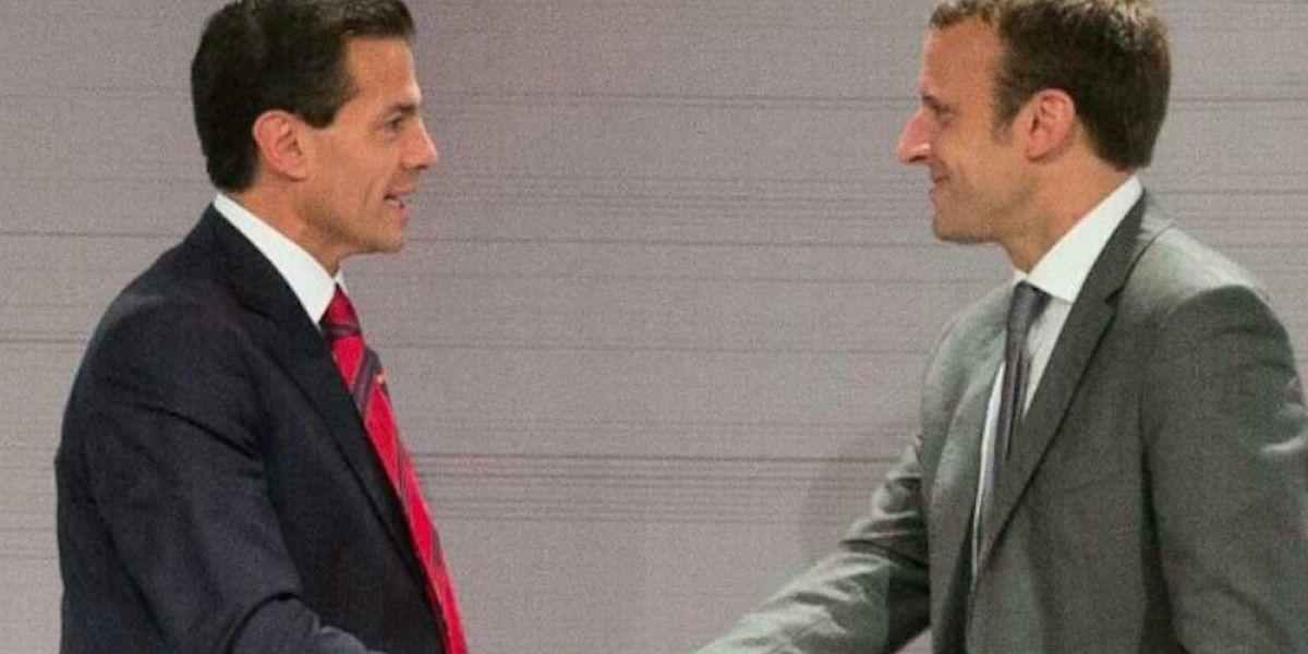 Peña Nieto felicita a Emmanuel Macron por ganar las elecciones presidenciales de Francia
