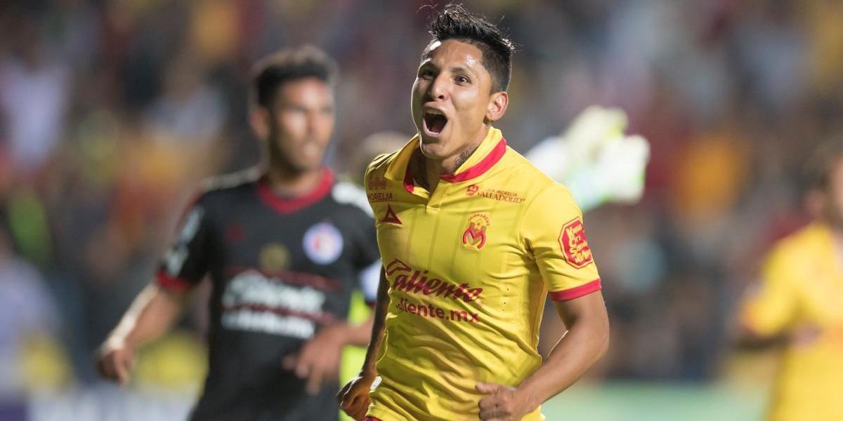 Ruidíaz de Morelia se lleva título de goleo con sabor a Primera División