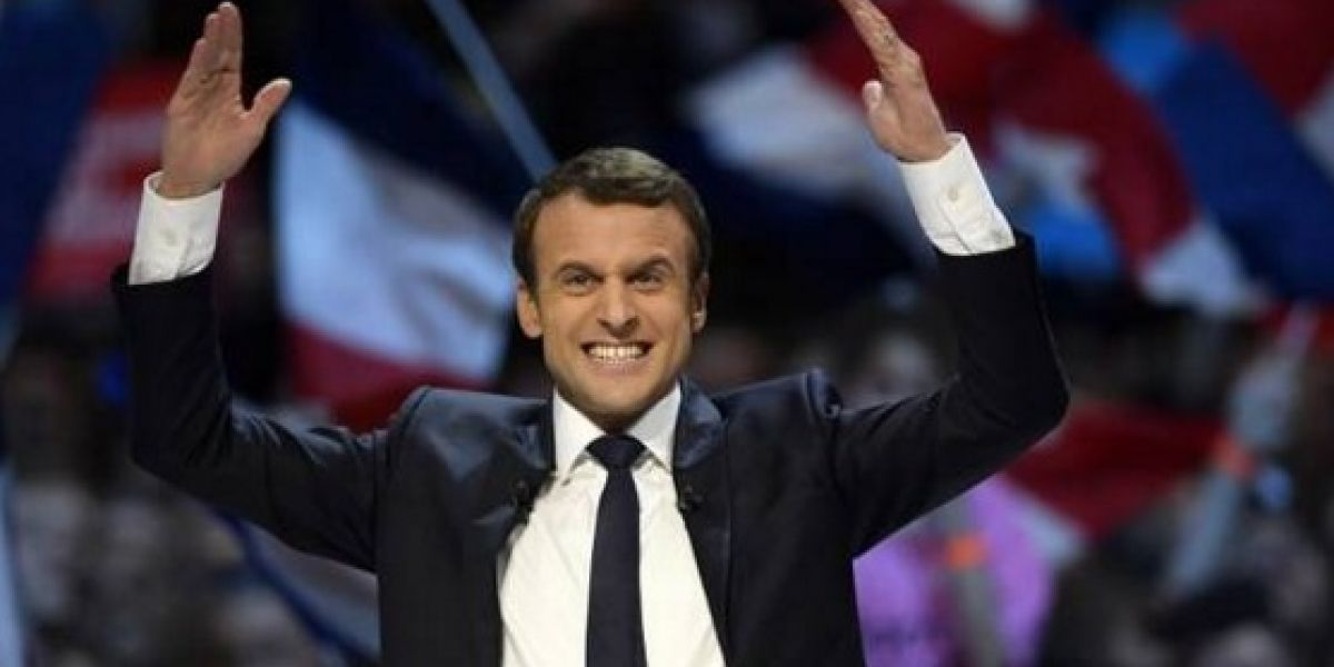 """Bachelet felicita a Macron por su victoria en elecciones francesas: """"Triunfaron los valores de la democracia sobre la intolerancia"""""""