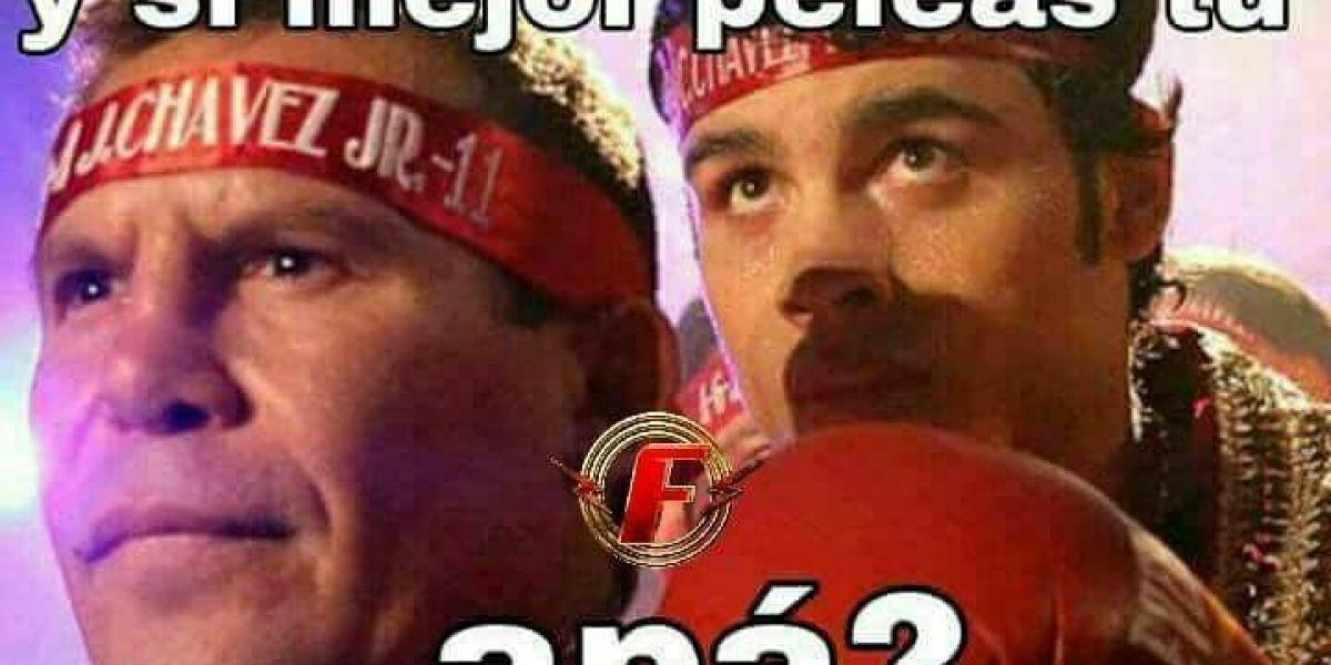 Los mejores memes de la pelea 'Canelo' vs. Chavez Jr.