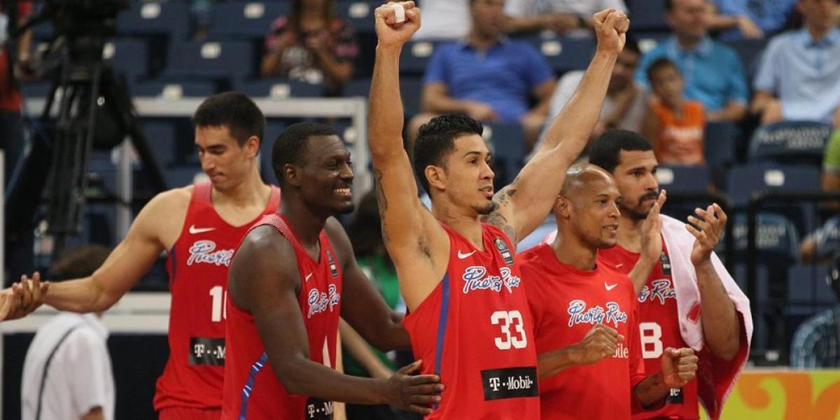 Mucha competencia para Puerto Rico en clasificatorio Mundial FIBA