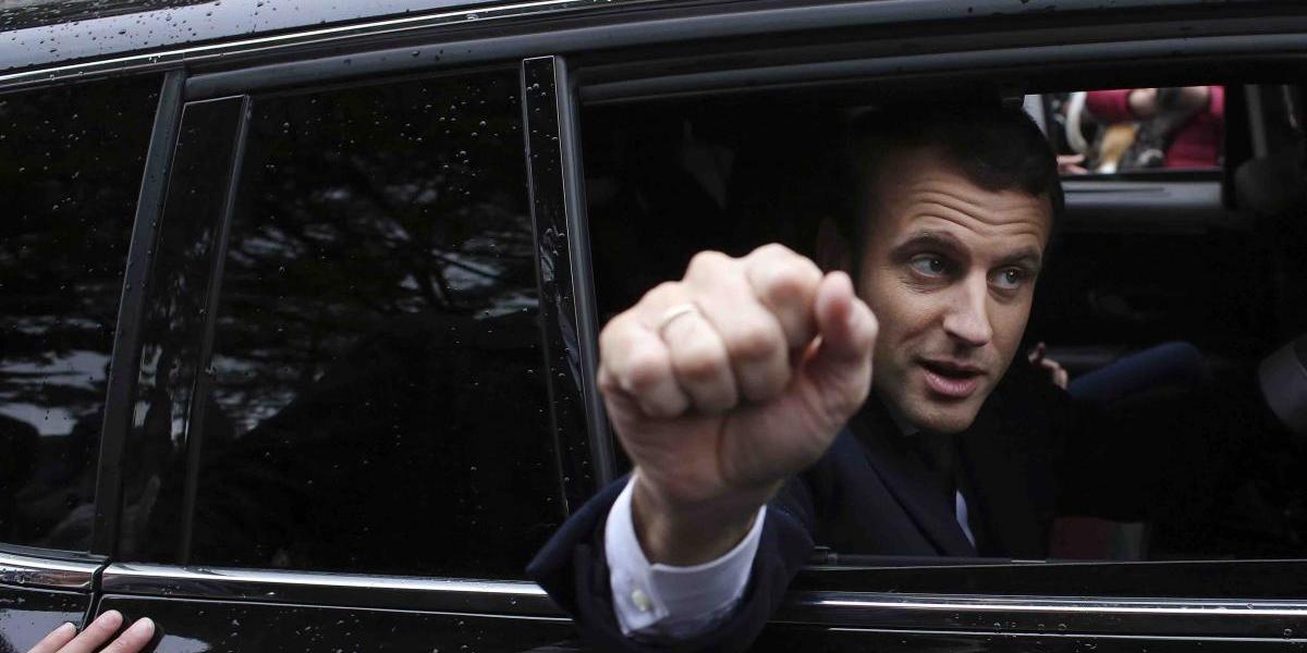 Contundente victoria de Macron en Francia