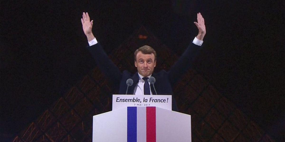 El mundo reacciona ante la victoria de Emmanuel Macron en Francia