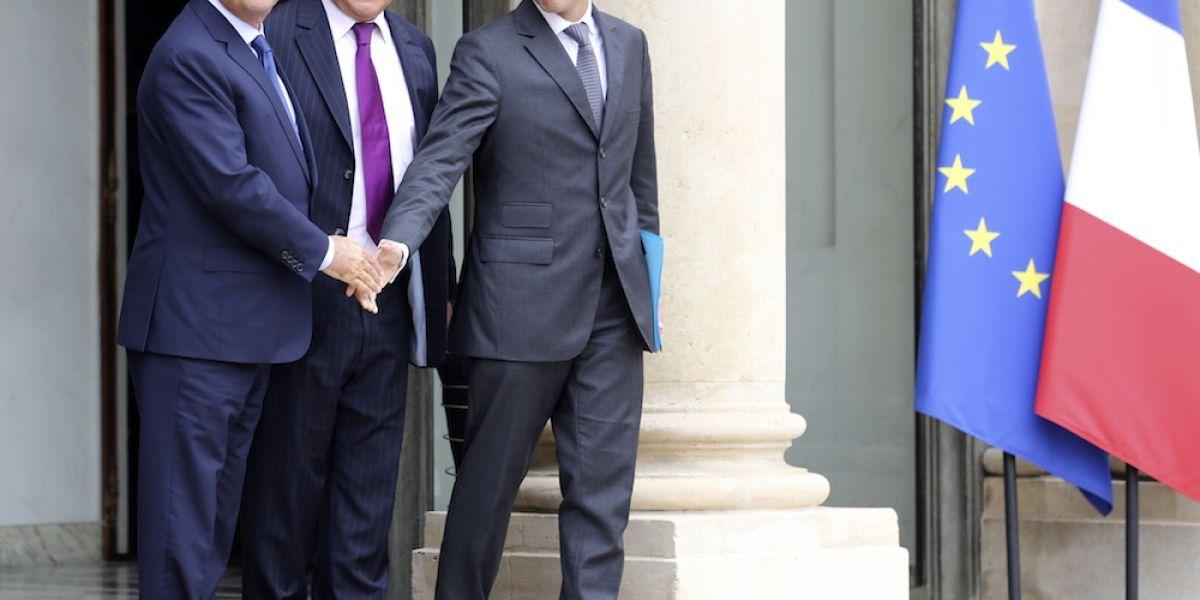 """""""La victoria de Macron confirma el compromiso de Francia con la UE"""": Hollande"""