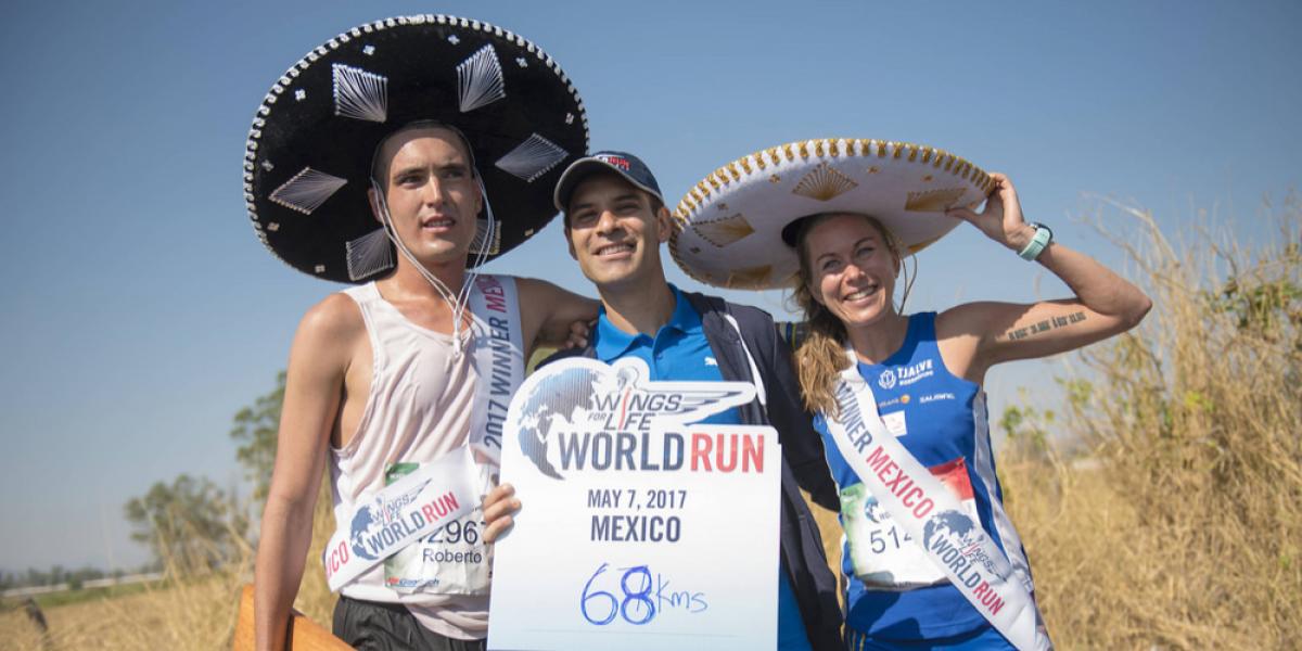 Roberto Meier se impuso en la carrera Wings For Life de Guadalajara