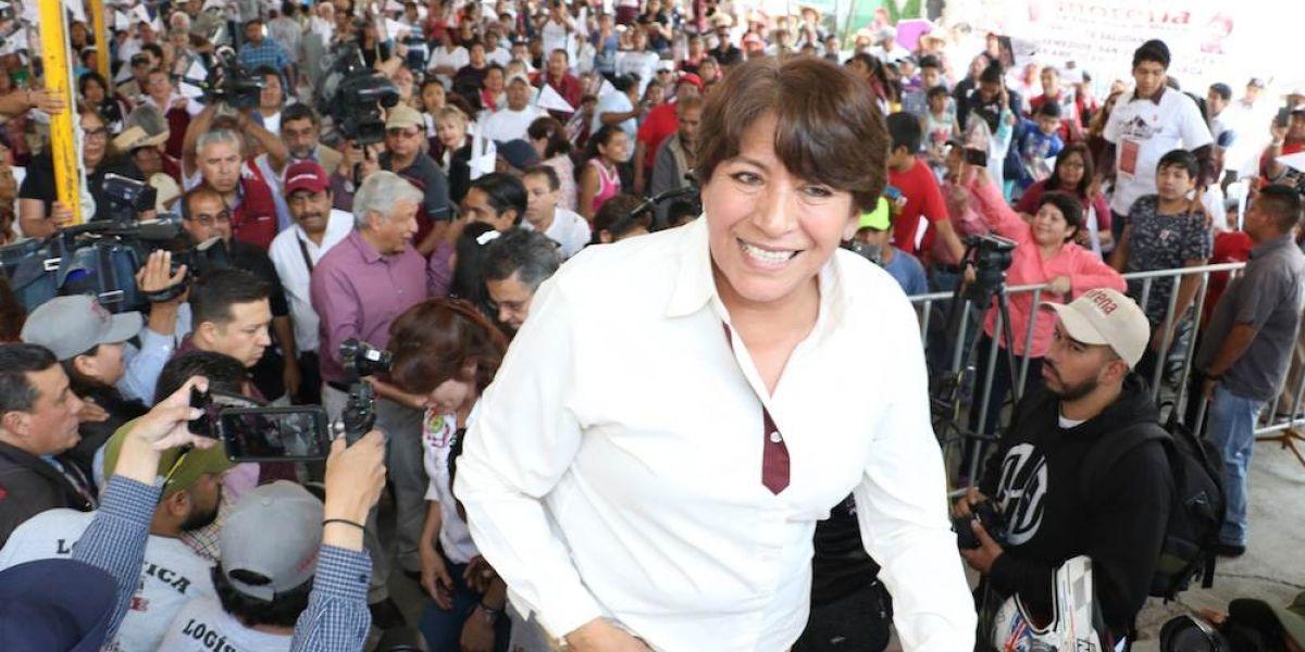 IEEM descarta medidas cuatelares contra Calderón por queja de Delfina Gómez