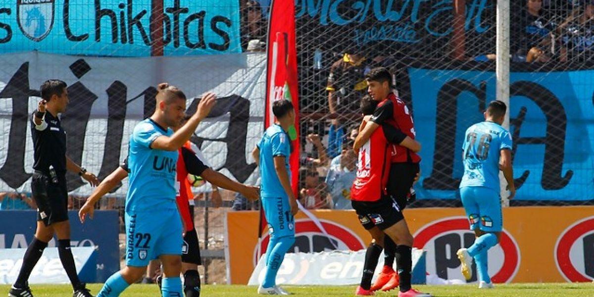 Así vivimos la derrota de Iquique ante Antofagasta que lo aleja del título