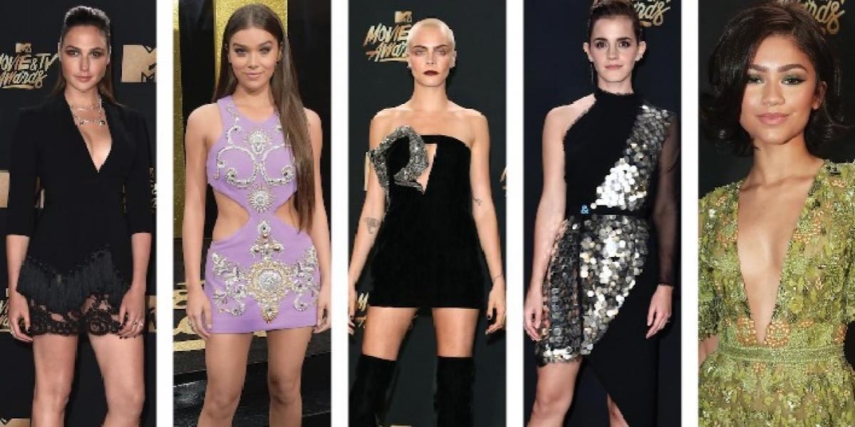 10 looks más sexy de los MTV Movie And TV Awards 2017