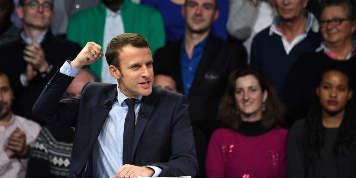 Macron se convierte en el presidente más joven de Francia según las primeras estimaciones