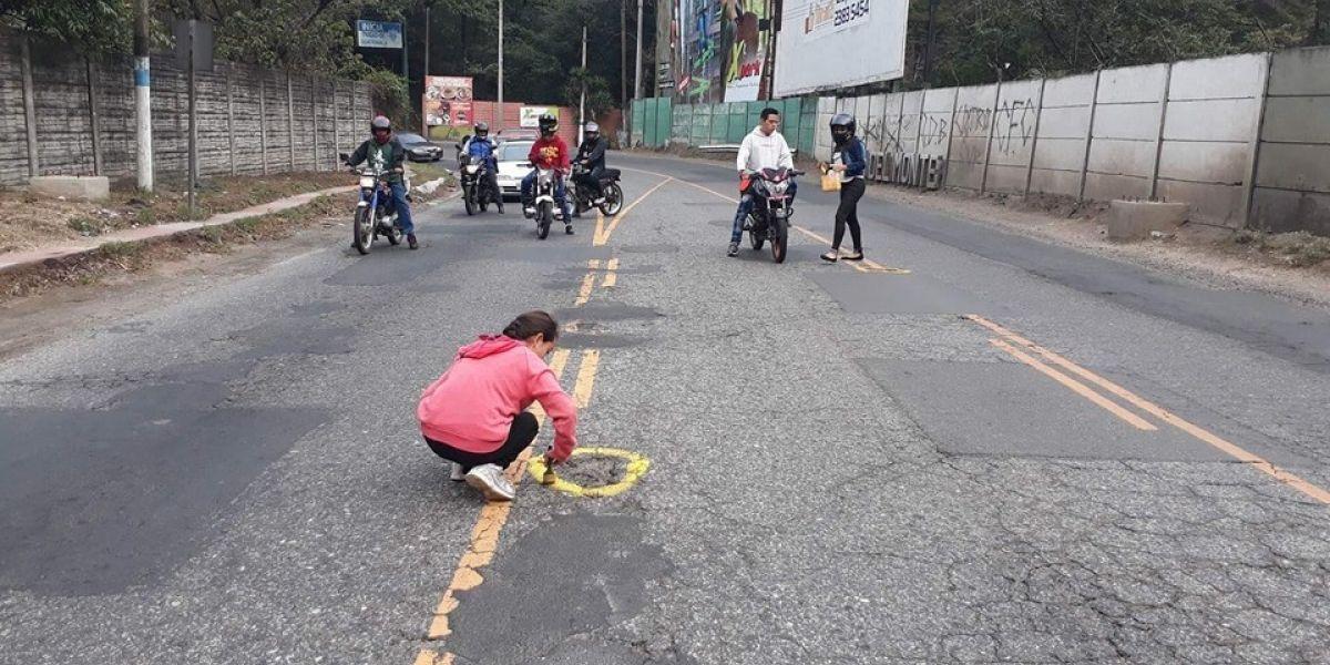 Conoce la campaña de motoristas para evitar accidentes en Villa Canales