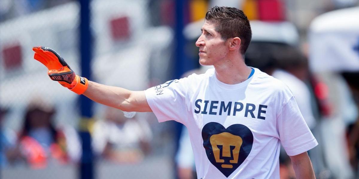 Pikolín Palacios se despide de Pumas en CU